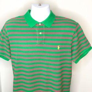Men's Custom Fit Polo Ralph Lauren Polo Shirt